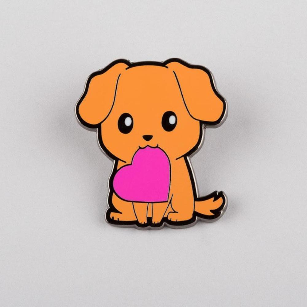 Puppy Love Pin TeeTurtle