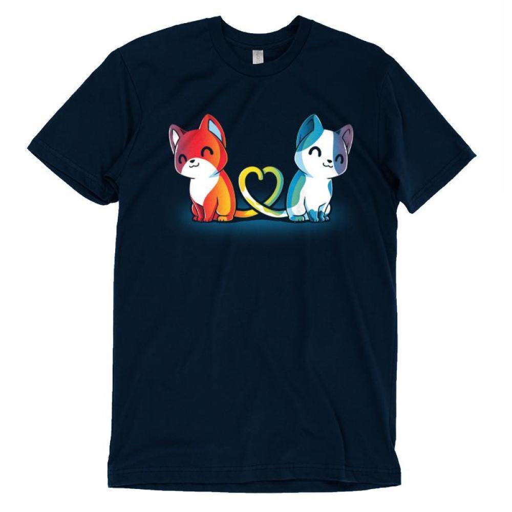 Purrfect Match T-Shirt TeeTurtle