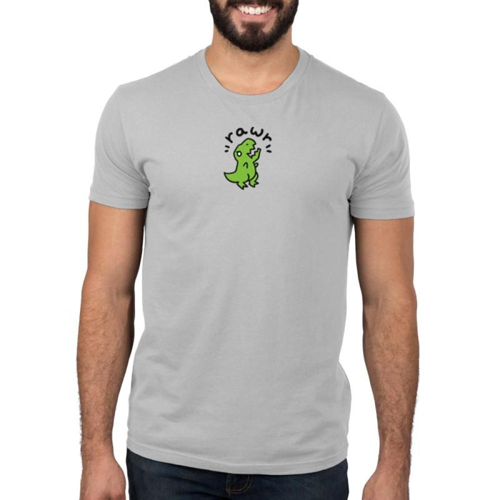 Rawr Men's T-Shirt Model TeeTurtle
