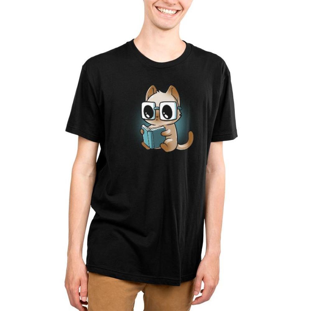 Reading Glasses Men's T-Shirt Model TeeTurtle