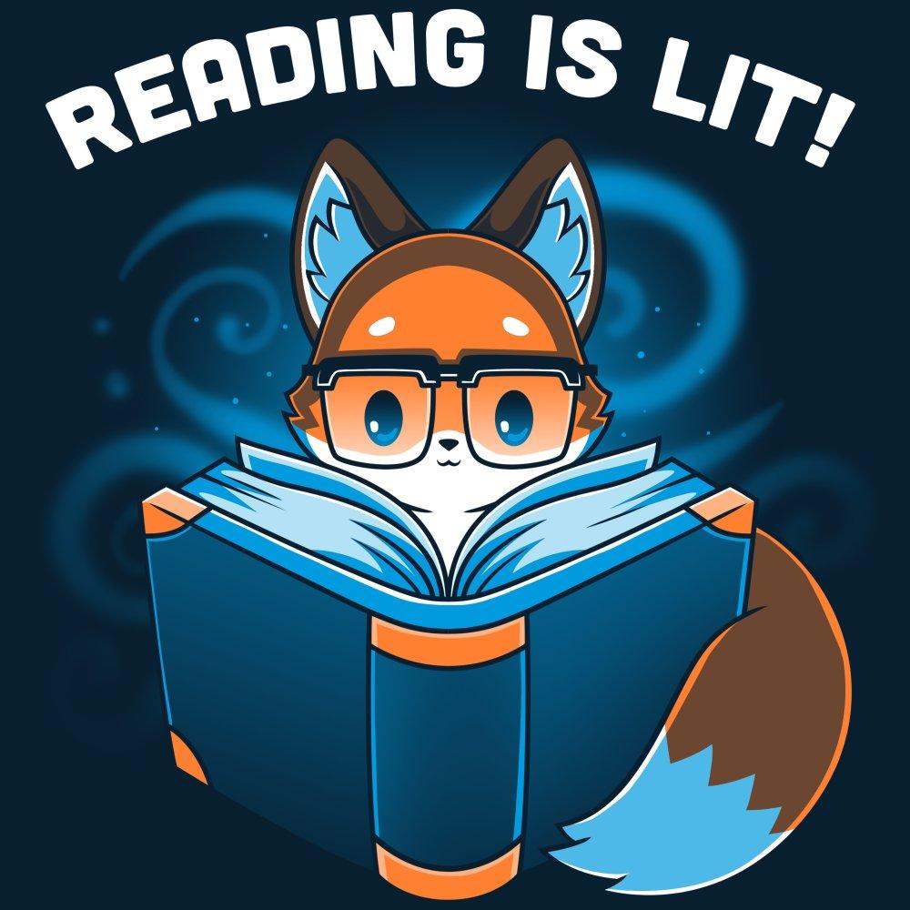 Reading Is Lit T-Shirt TeeTurtle