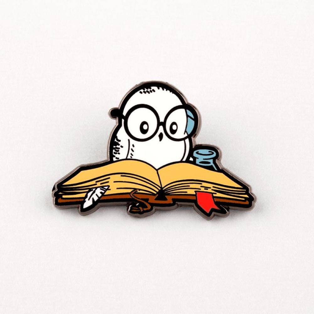 Reading is Magical Pin TeeTurtle