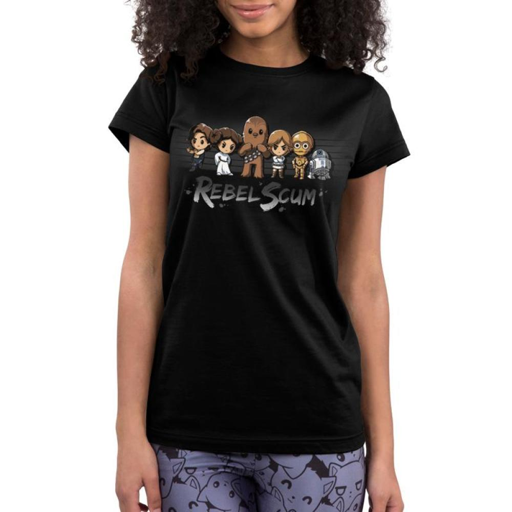 Rebel Scum Juniors T-Shirt Model Star Wars TeeTurtle