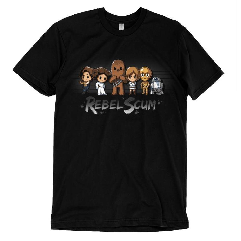 Rebel Scum T-Shirt Star Wars TeeTurtle