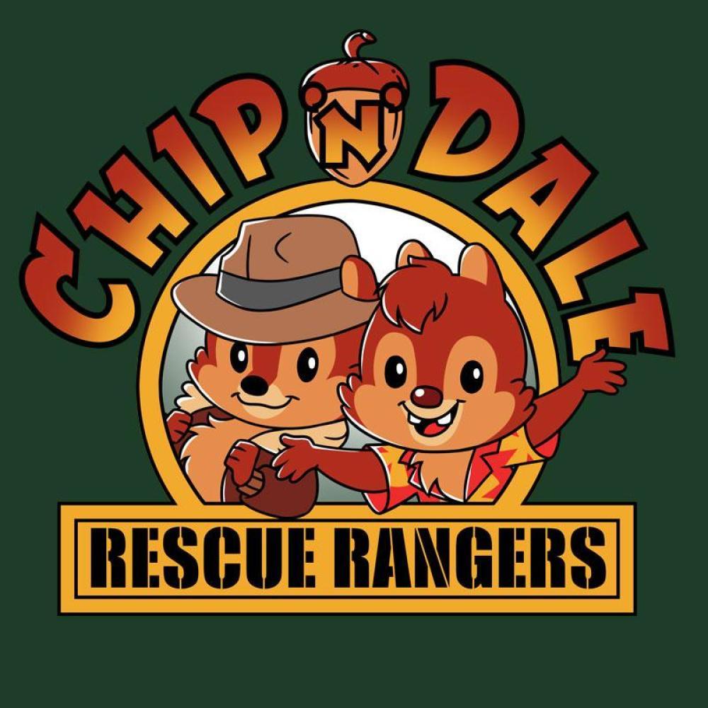 Chip 'n Dale Rescue Rangers T-Shirt Disney TeeTurtle