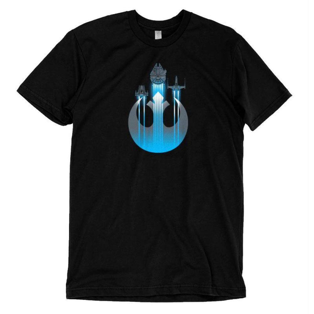 Resistance Ships T-Shirt Star Wars TeeTurtle
