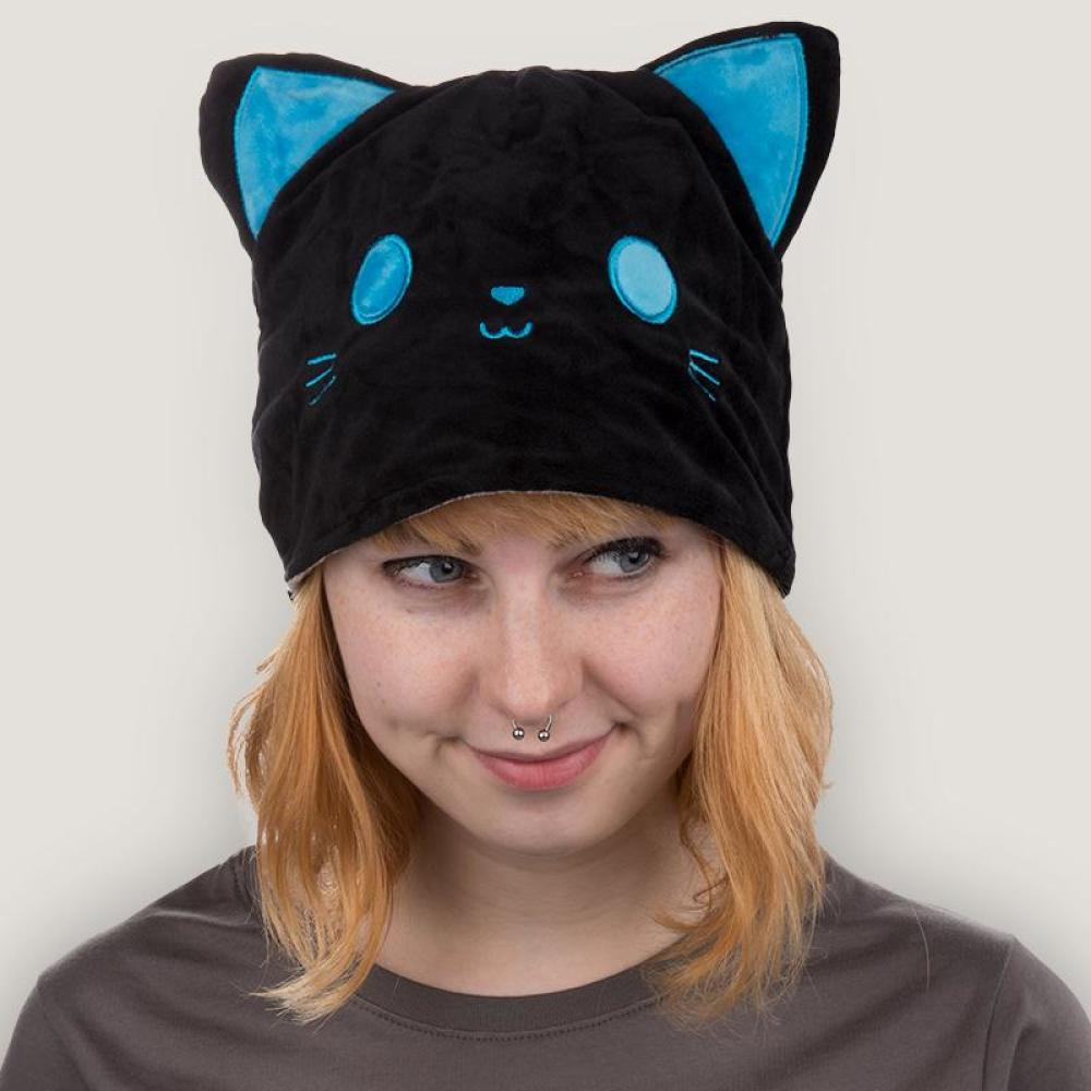 Reversible Cat Hat Skull Funny Cute Amp Nerdy Hats