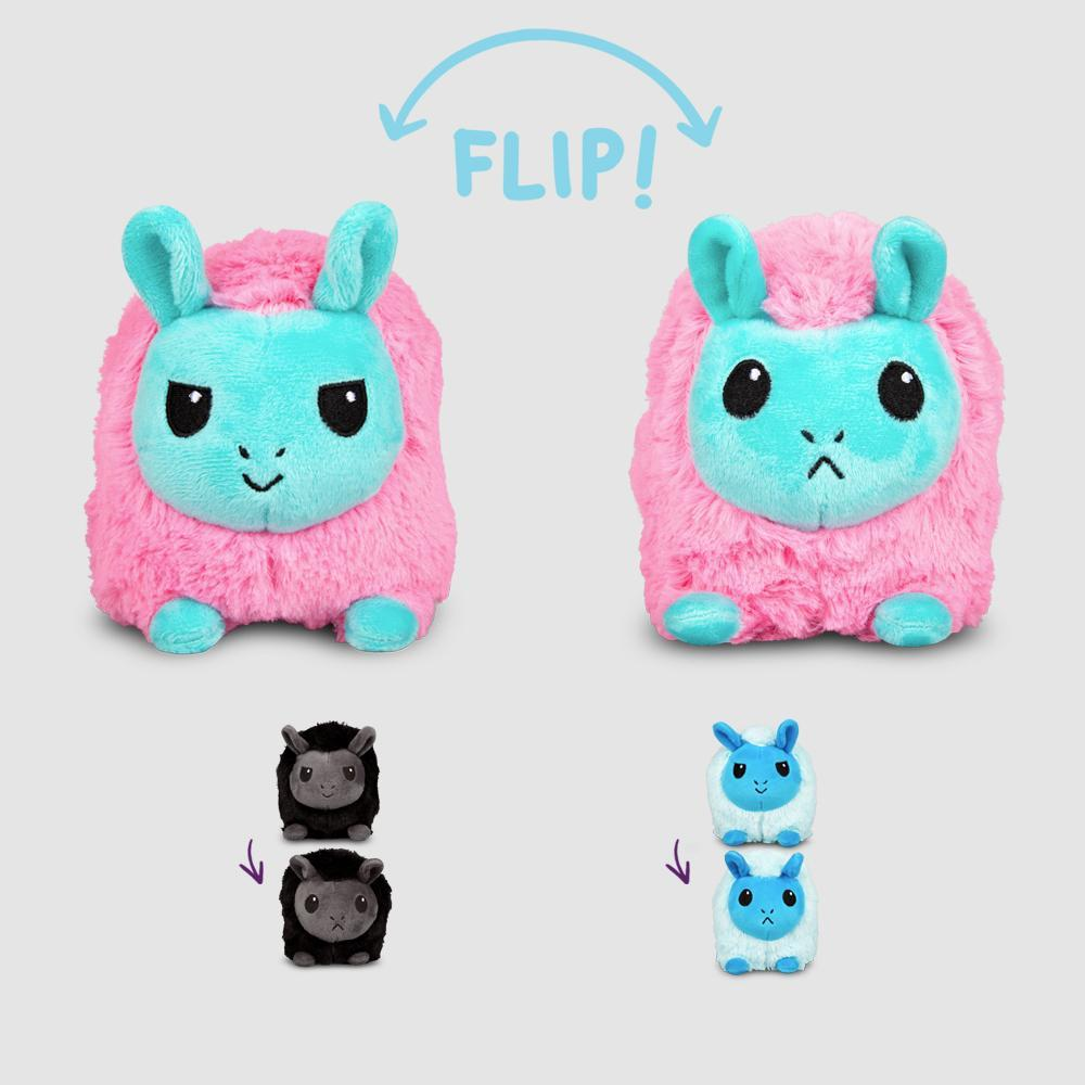 Reversible Llama Mini Plushie TeeTurtle