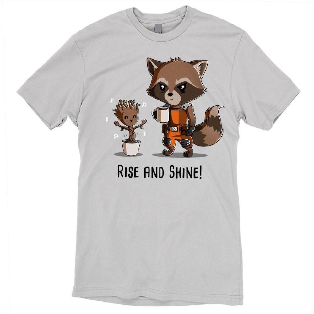 Rise and Shine! t-shirt Marvel TeeTurtle