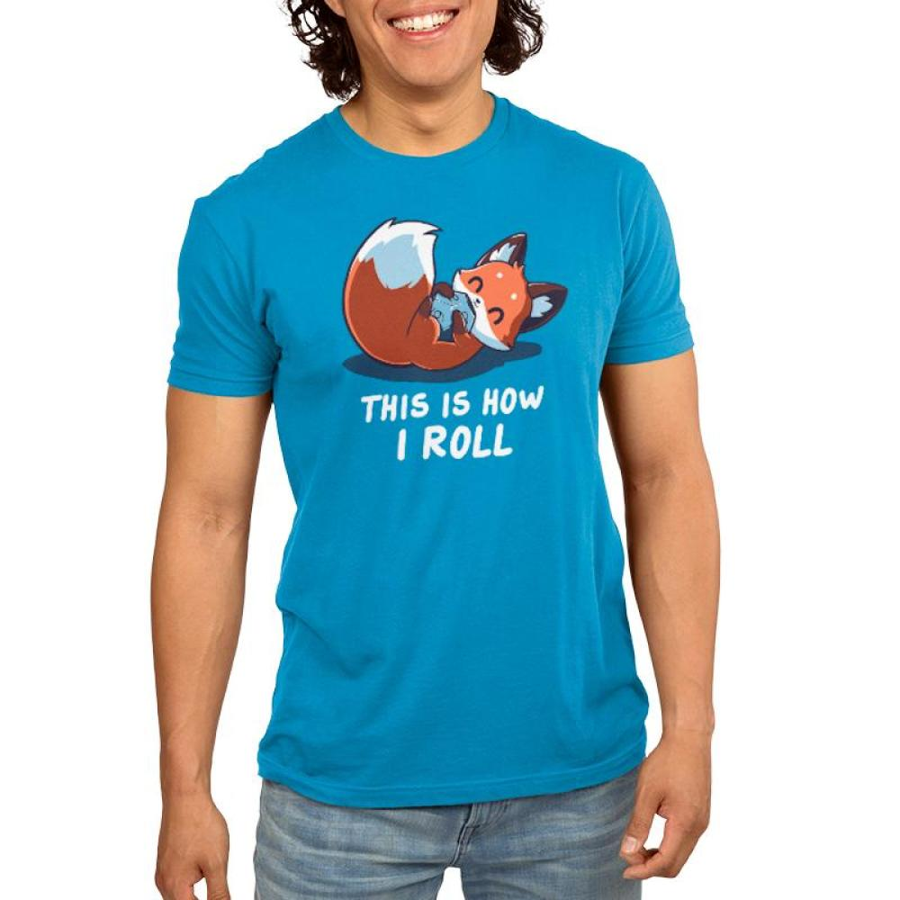 Roll the Dice Men's T-Shirt Model TeeTurtle