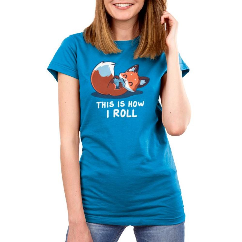 Roll the Dice Women's T-Shirt Model TeeTurtle
