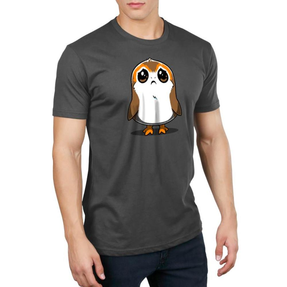 Sad Porg Men's T-Shirt Model Star Wars TeeTurtle