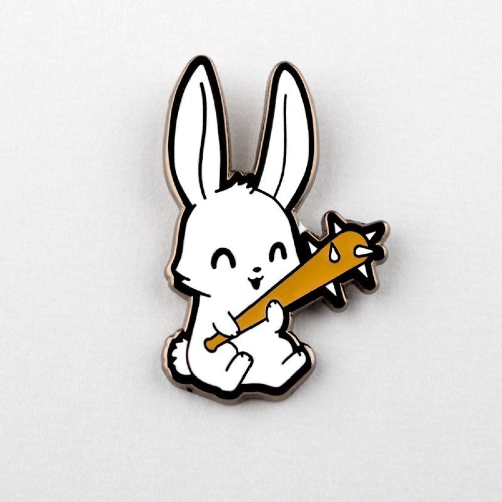 Savage Bunny Pin TeeTurtle