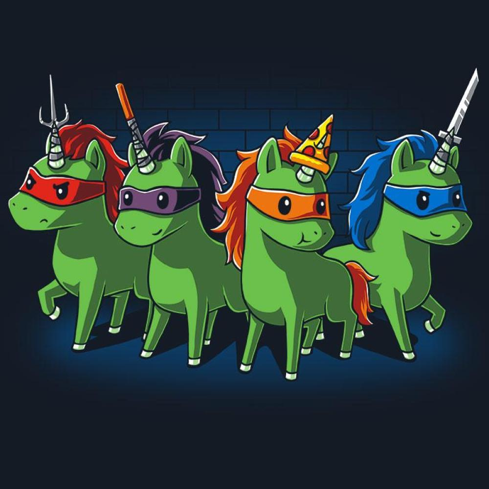 Sewer Unicorns T-Shirt TeeTurtle