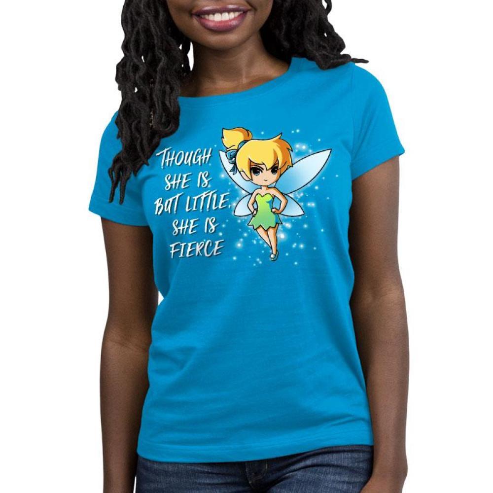 She is Fierce Women's Relaxed Fit T-Shirt Model Disney TeeTurtle