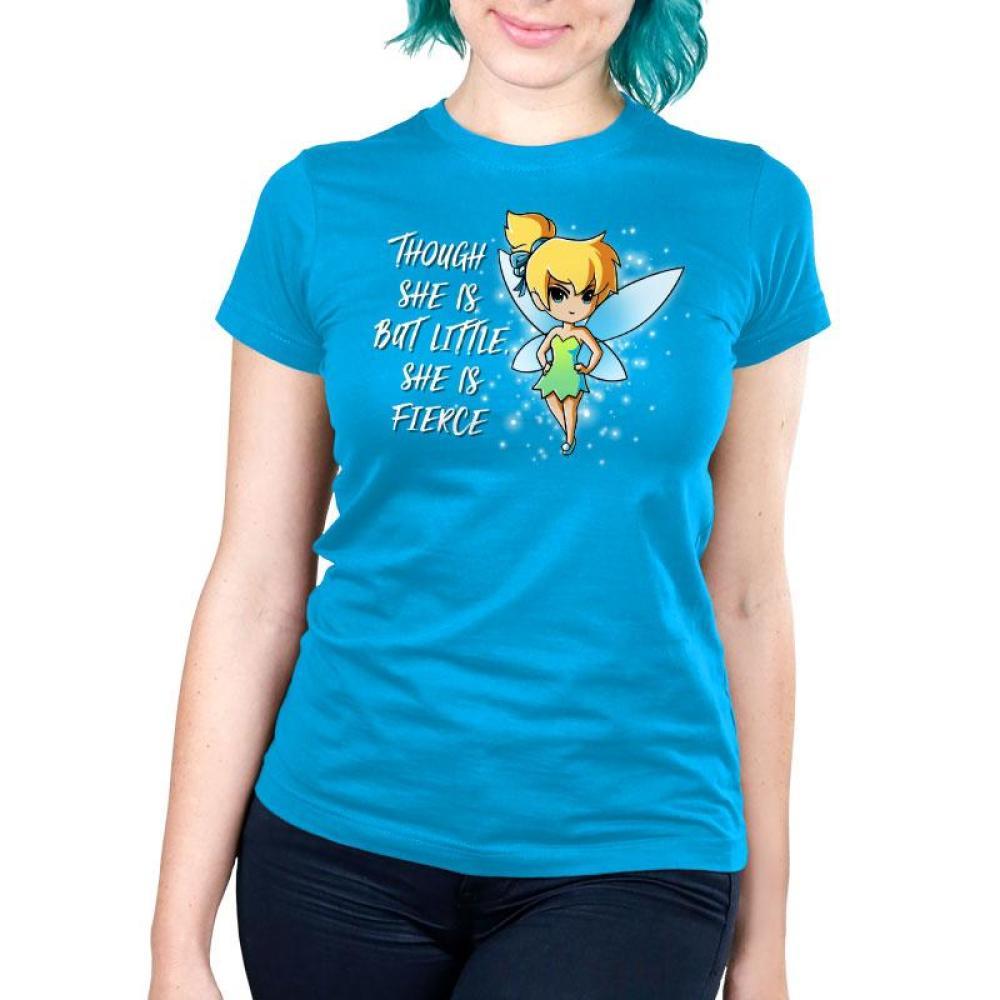She is Fierce Women's Ultra Slim T-Shirt Model Disney TeeTurtle