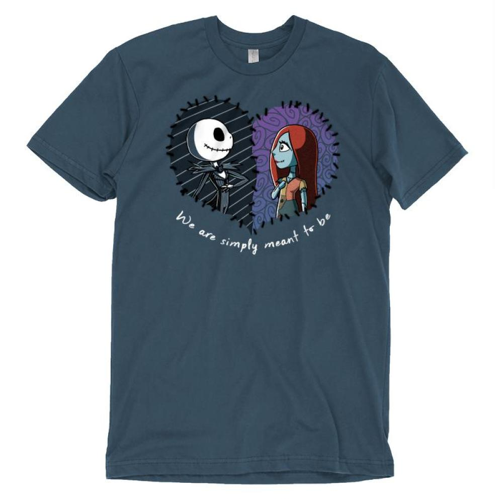 Simply Meant To Be T-Shirt The Nightmare Before Christmas TeeTurtle