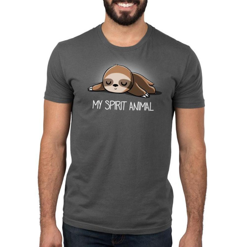 My Spirit Animal (Sloth) Standard T-Shirt Model TeeTurtle