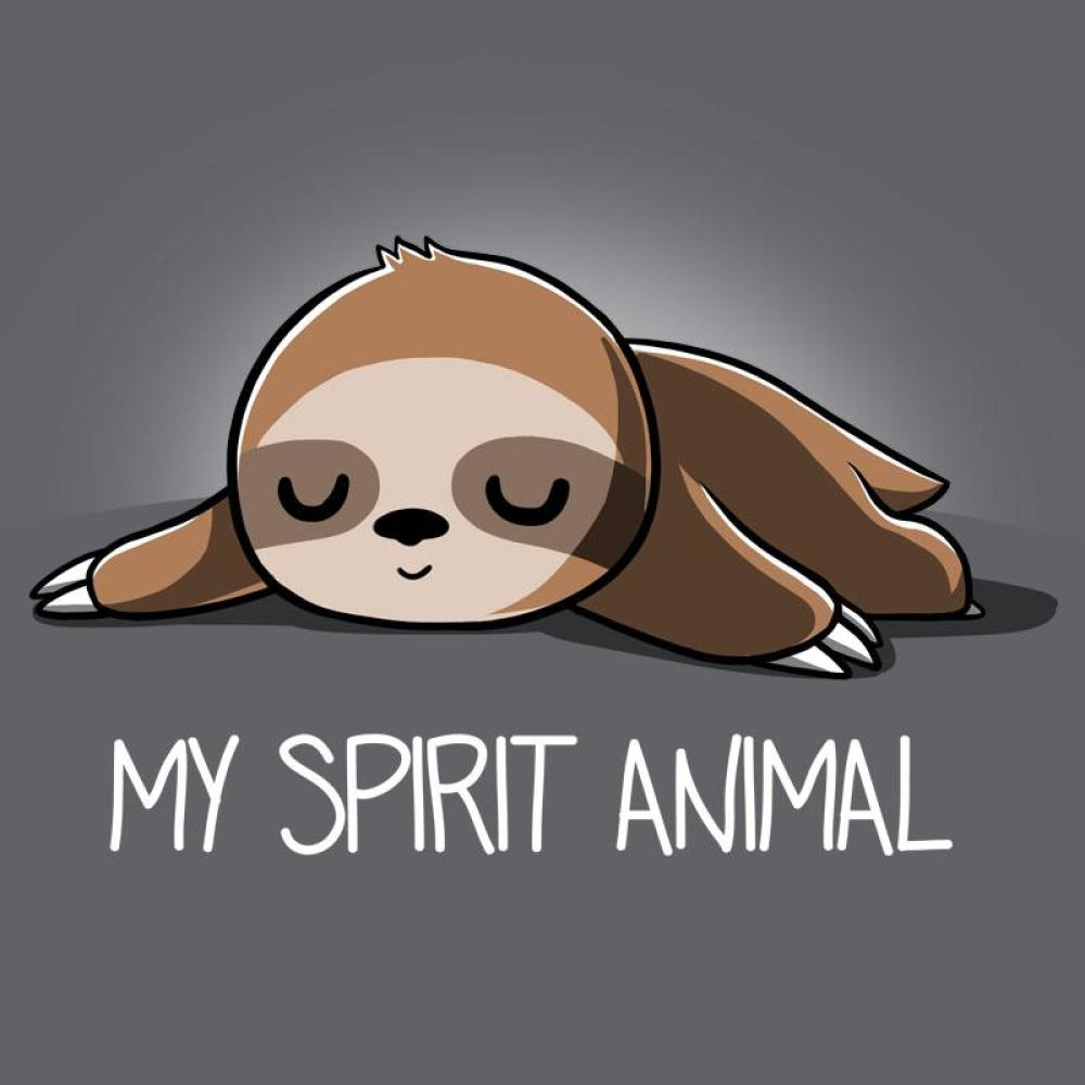 My Spirit Animal (Sloth) T-Shirt TeeTurtle