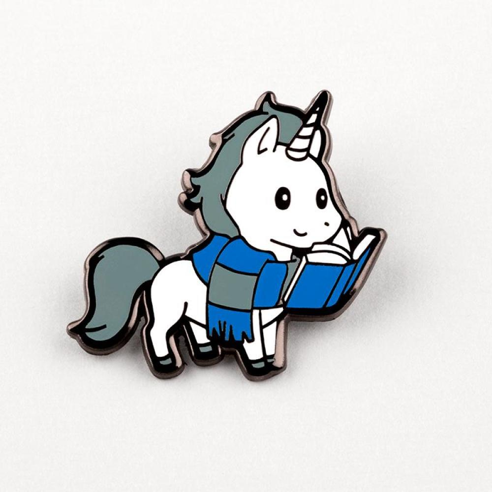 Smart Unicorn Pin TeeTurtle