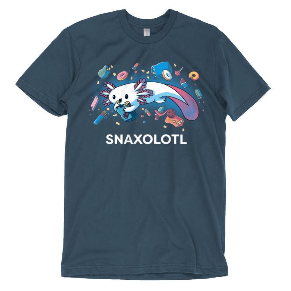 Snaxolotl T-Shirt TeeTurtle