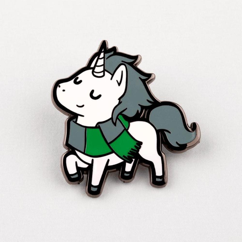 Sneaky Unicorn Pin TeeTurtle