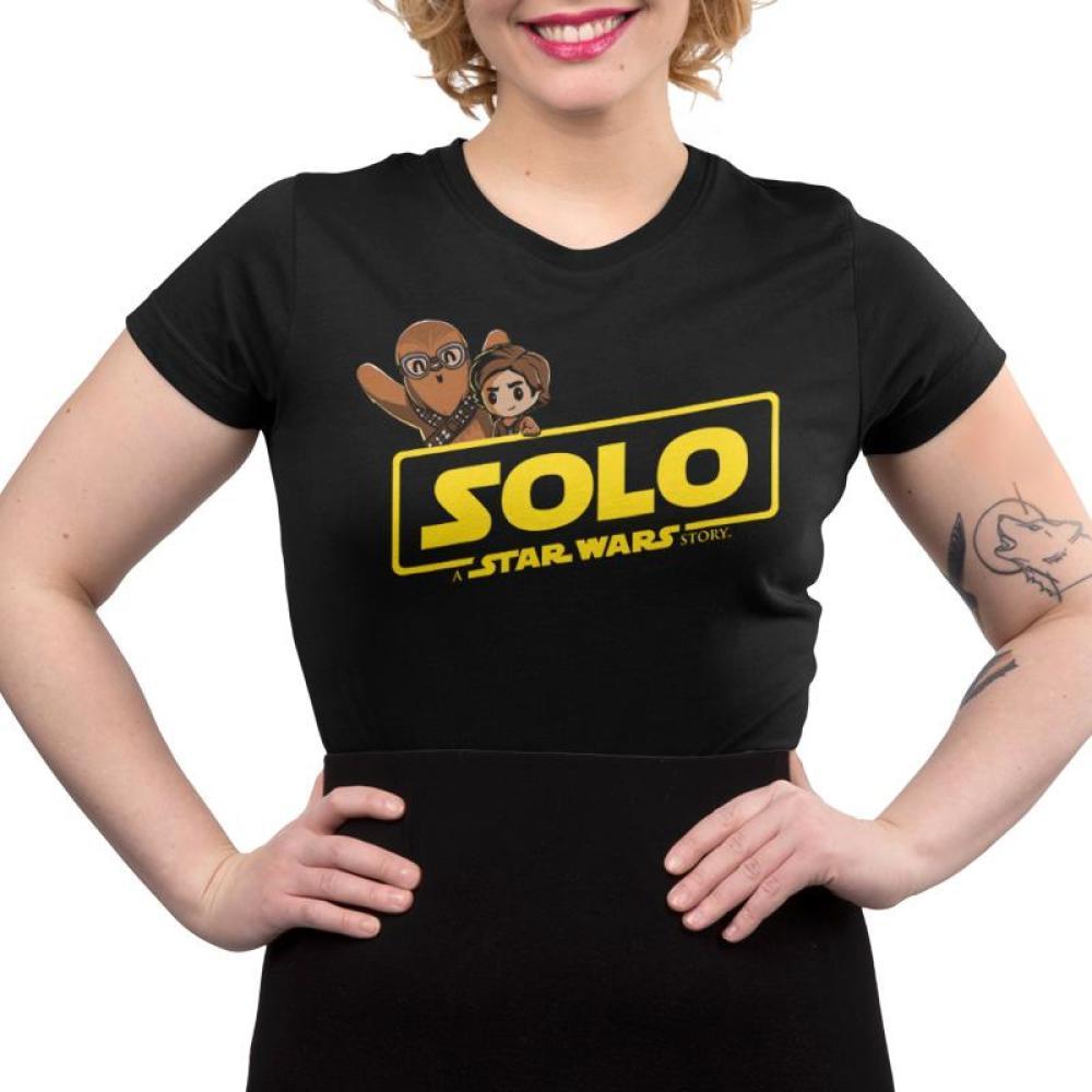 Solo: A Star Wars Story Juniors T-Shirt Model Star Wars TeeTurtle