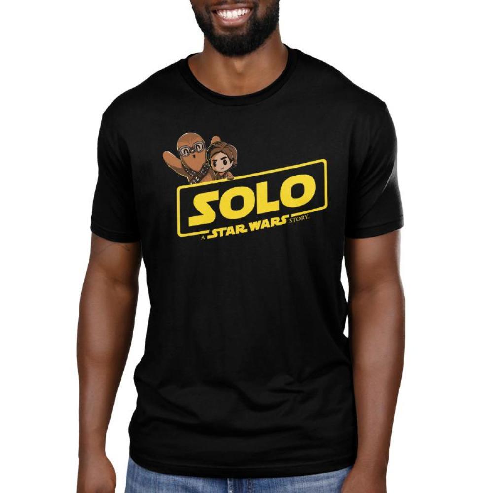 Solo: A Star Wars Story Men's T-Shirt Model Star Wars TeeTurtle