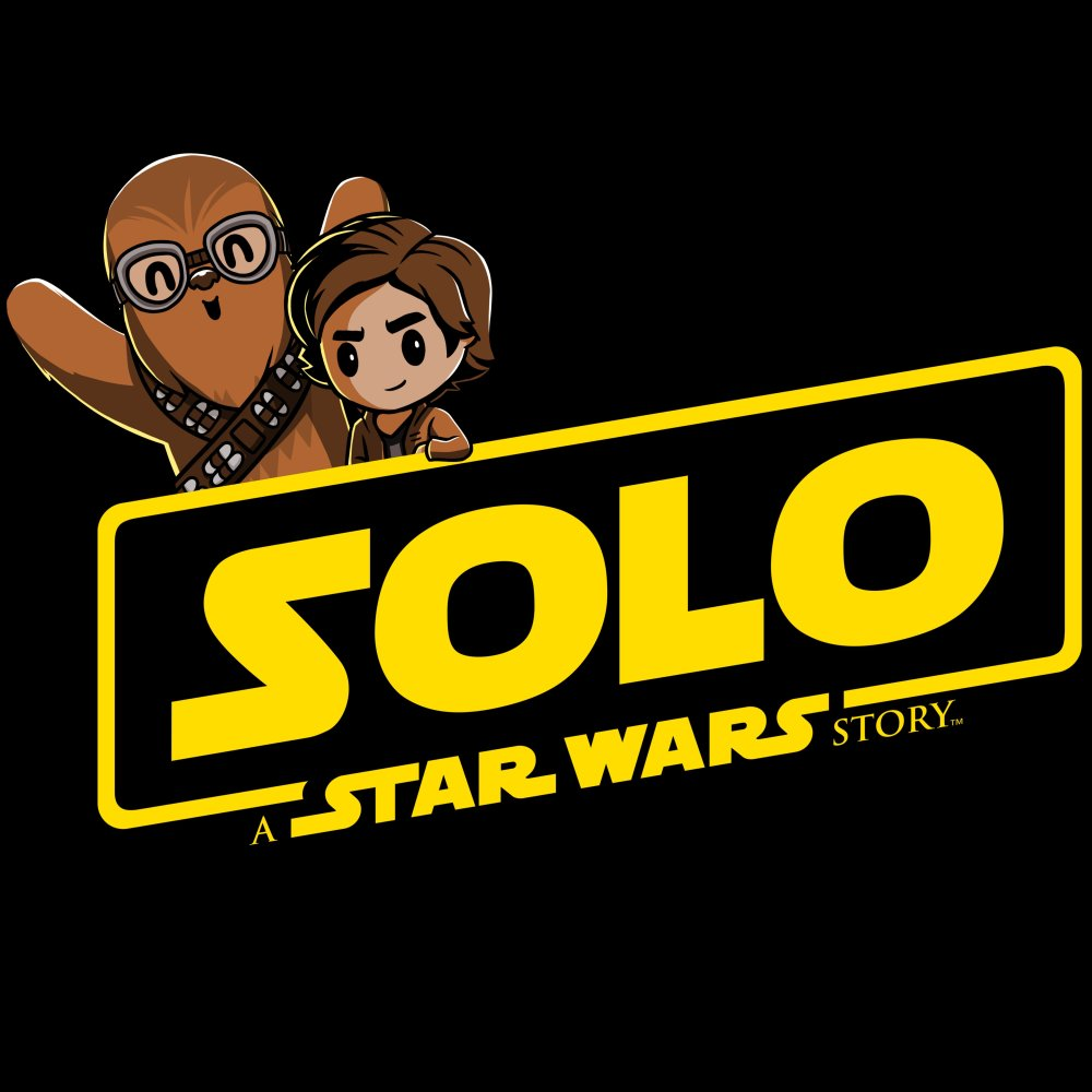 Solo: A Star Wars Story T-Shirt Star Wars TeeTurtle