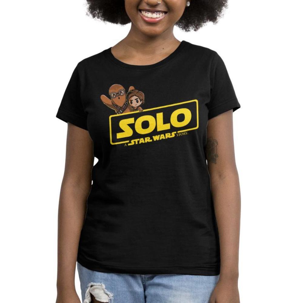 Solo: A Star Wars Story Women's T-Shirt Model Star Wars TeeTurtle