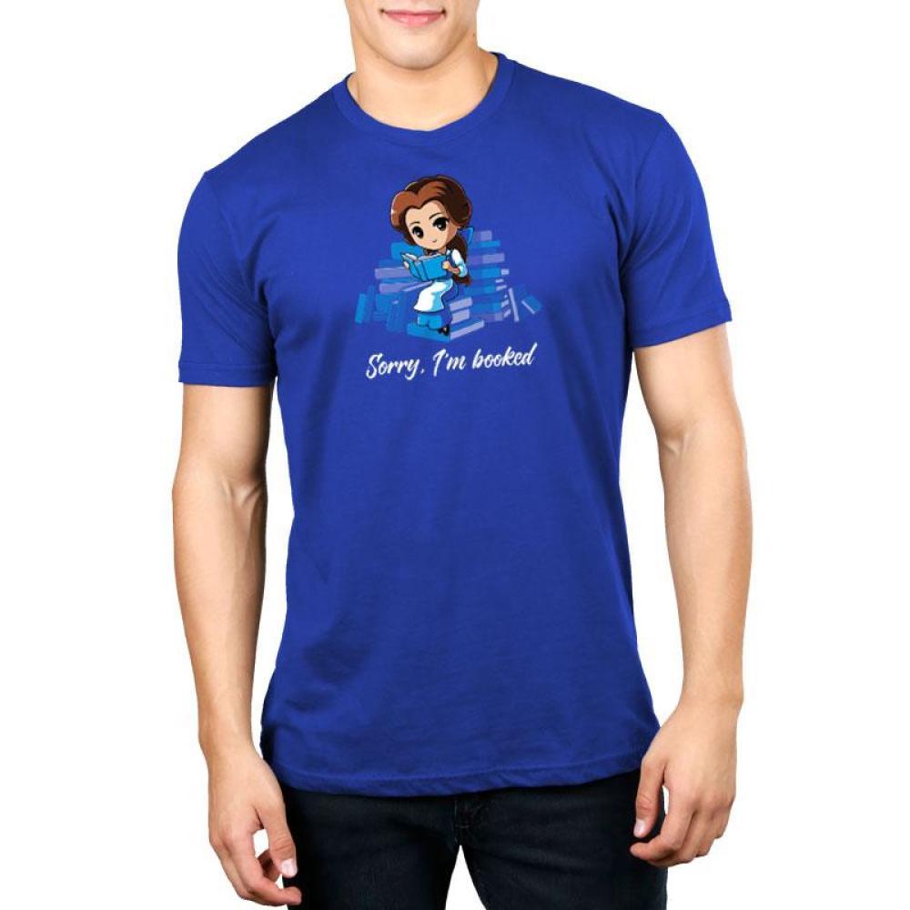 Sorry, I'm Booked (Belle) Standard T-Shirt Model Disney TeeTurtle