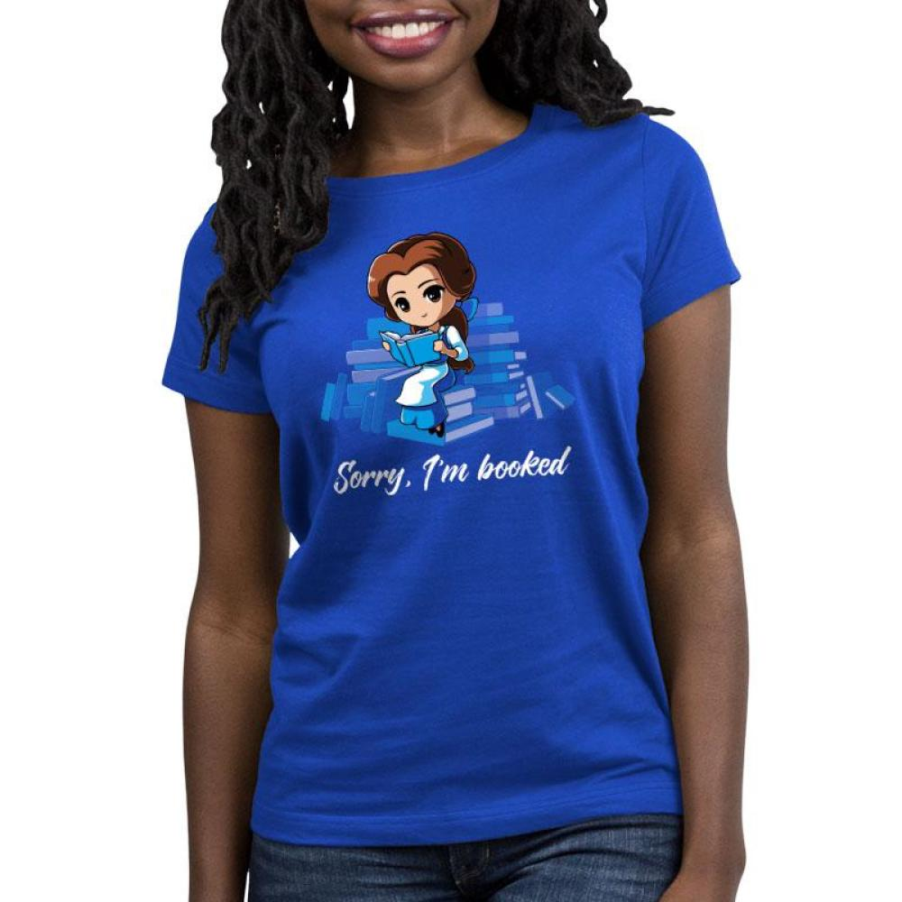 Sorry, I'm Booked (Belle) Women's Relaxed Fit T-Shirt Model Disney TeeTurtle