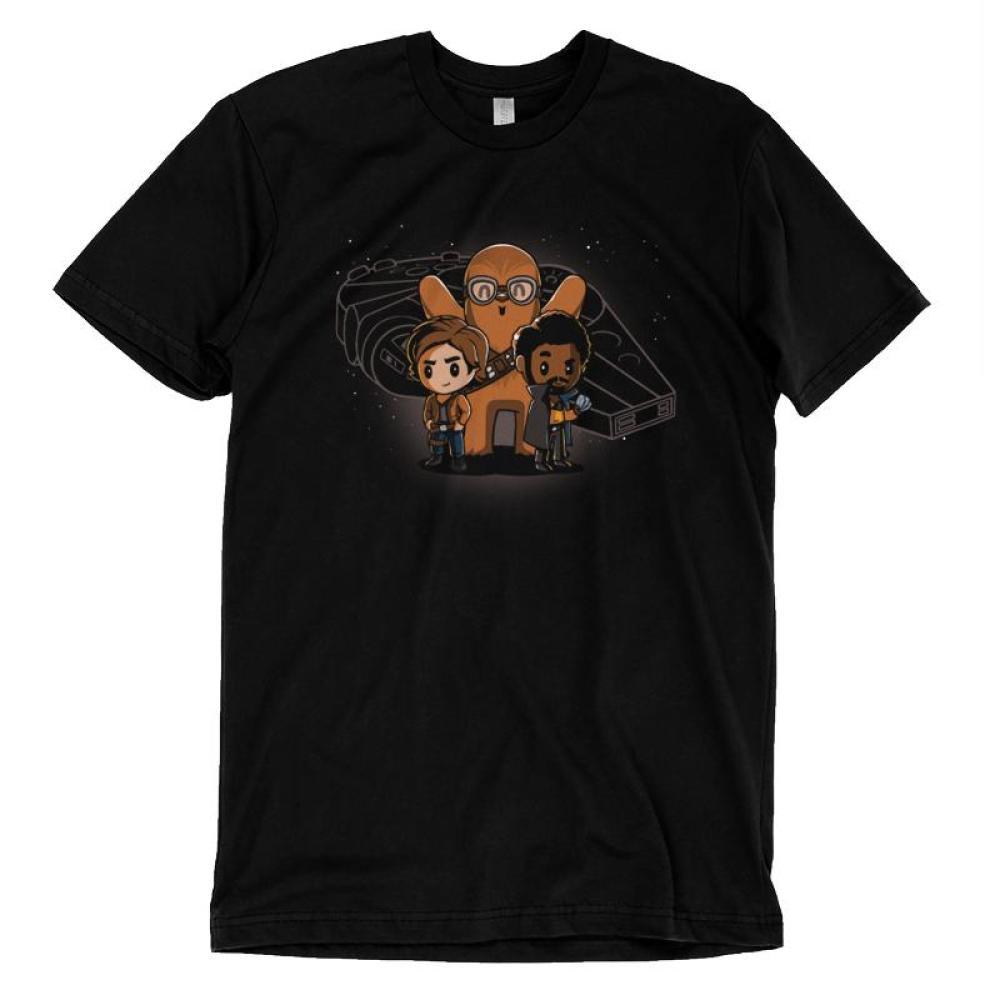 Space Smugglers T-Shirt Star Wars TeeTurtle