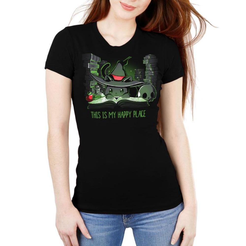 Spellbound Women's Ultra Slim T-Shirt Model TeeTurtle