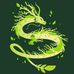 Spring Dragon T-Shirt TeeTurtle