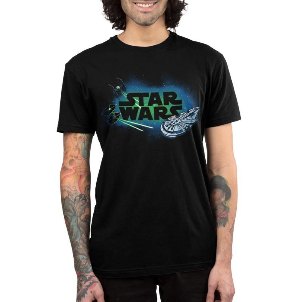 Starships Shirt Men's T-Shirt Model Star Wars TeeTurtle