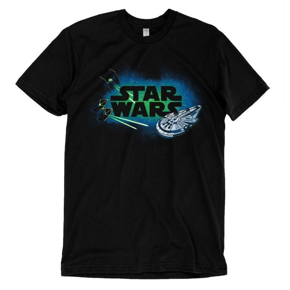 Starships Shirt T-Shirt Star Wars TeeTurtle