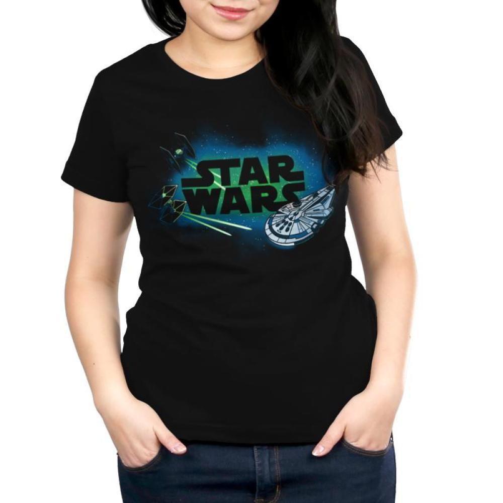 Starships Shirt Women's T-Shirt Model Star Wars TeeTurtle