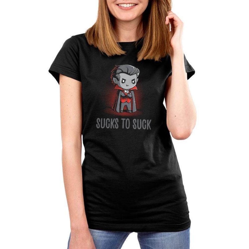 Sucks to Suck Women's T-Shirt Model TeeTurtle