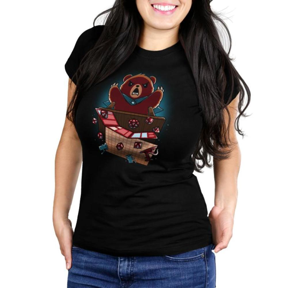 Suddenly... Earthquake Juniors T-Shirt Model TeeTurtle