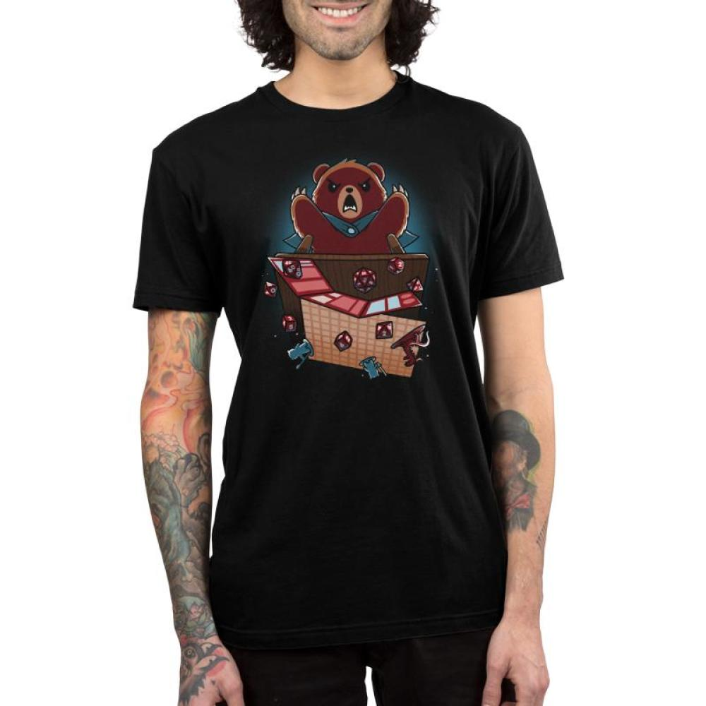 Suddenly... Earthquake Men's T-Shirt Model TeeTurtle