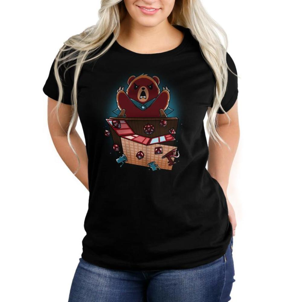 Suddenly... Earthquake Women's T-Shirt Model TeeTurtle