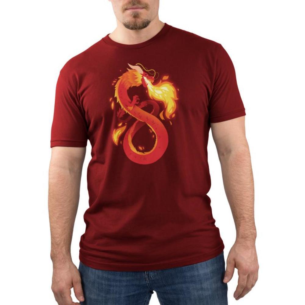 Summer Dragon Men's T-Shirt Model TeeTurtle