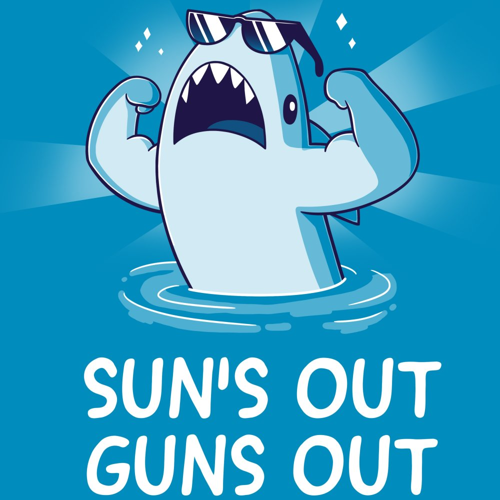 d74b6209 Sun's Out Guns Out | Funny, cute & nerdy shirts - TeeTurtle