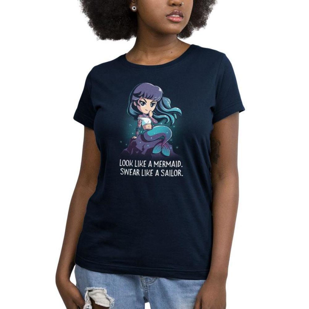 Swear Like A Sailor Women's T-Shirt Model TeeTurtle