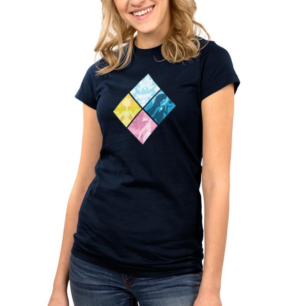 The Great Diamond Authority Juniors T-Shirt Model Cartoon Network - Steven Universe TeeTurtle