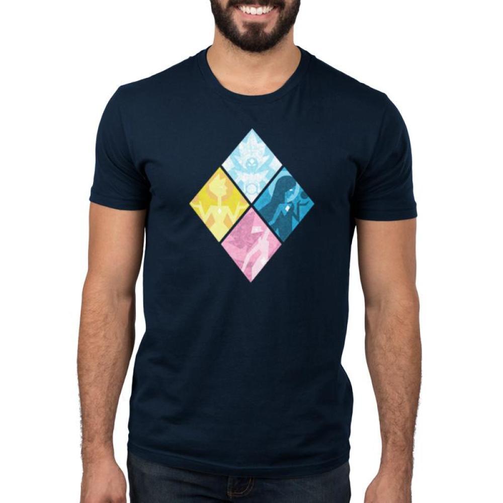 The Great Diamond Authority Men's T-Shirt Model Cartoon Network - Steven Universe TeeTurtle