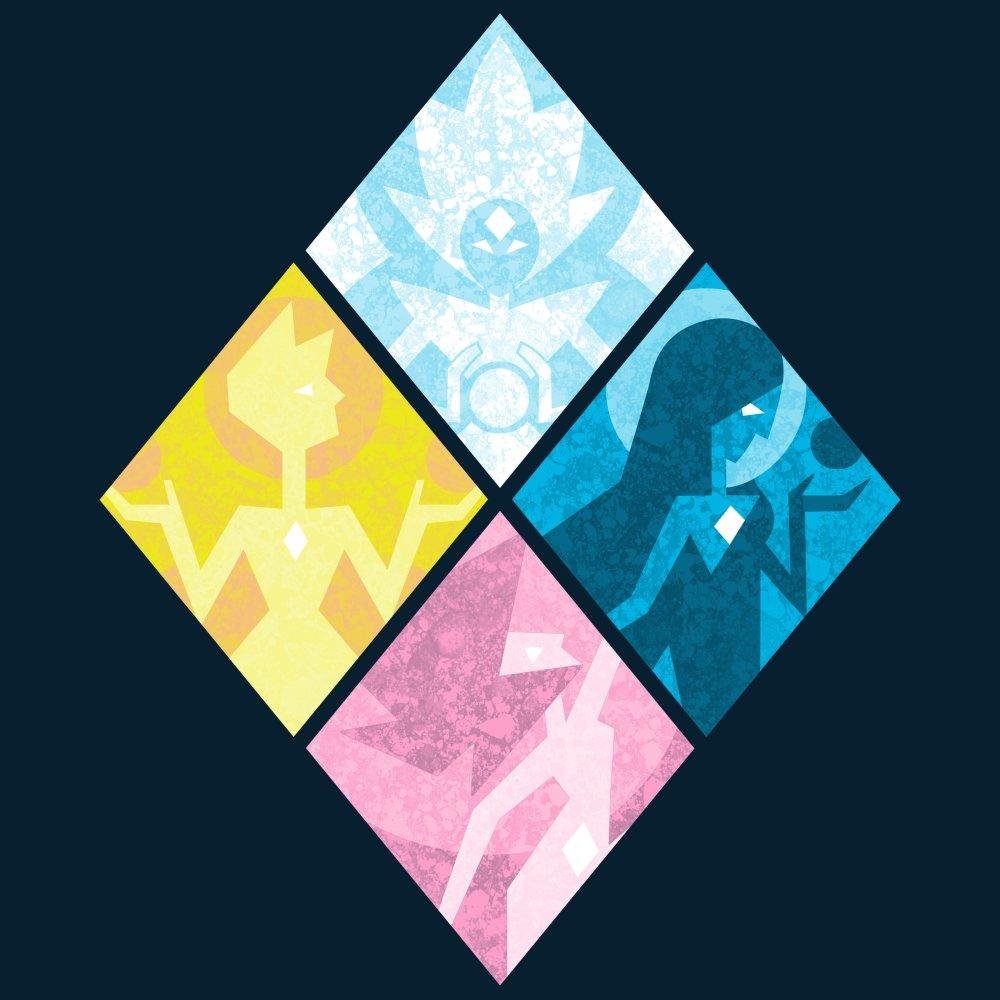 The Great Diamond Authority T-Shirt Cartoon Network - Steven Universe TeeTurtle