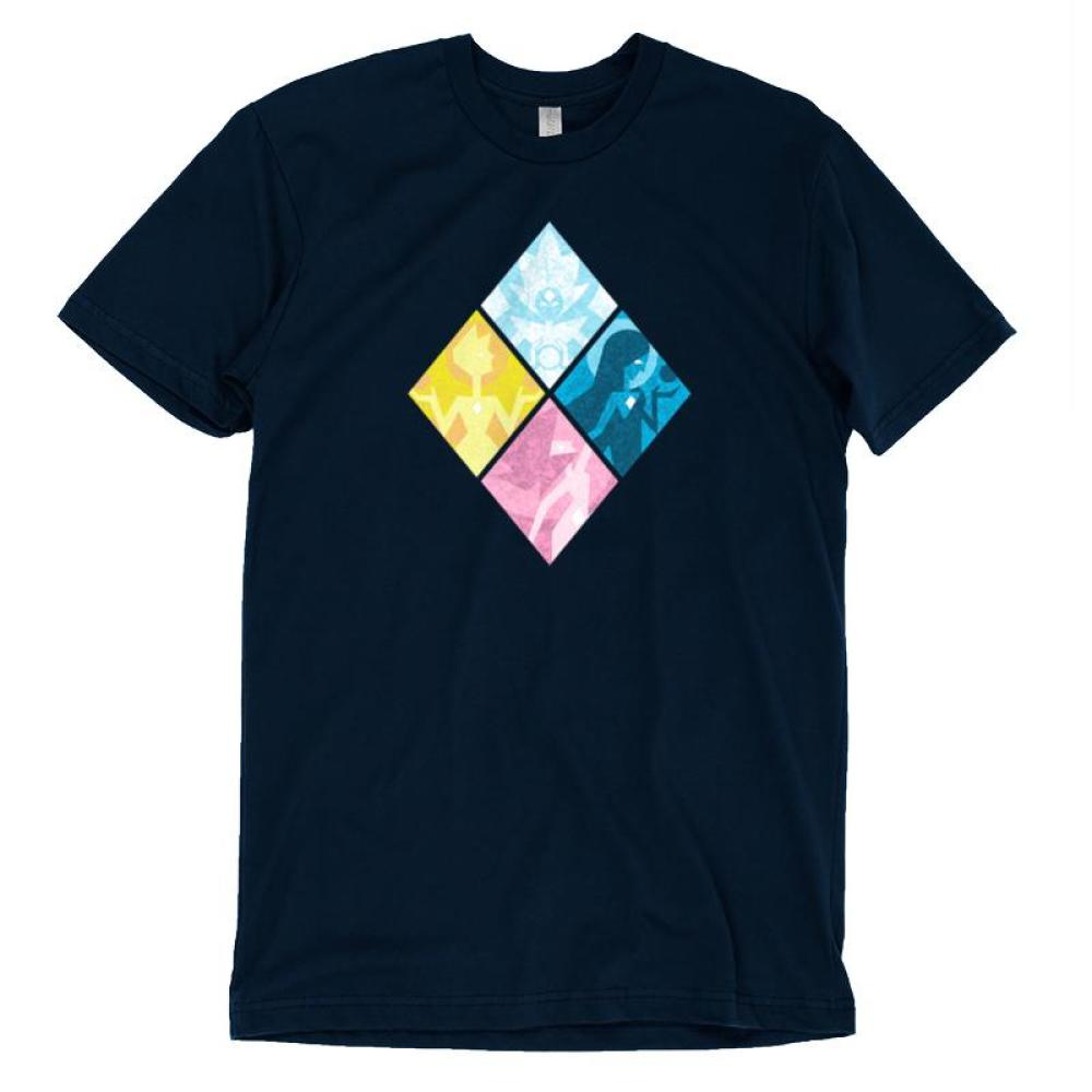 The Great Diamond Authority T-Shirt Cartoon Network - Steven Universe TeeTurtle