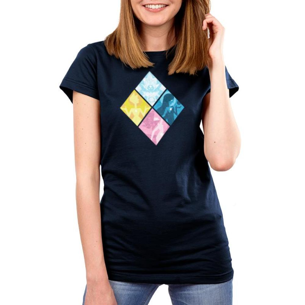 The Great Diamond Authority Women's T-Shirt Model Cartoon Network - Steven Universe TeeTurtle